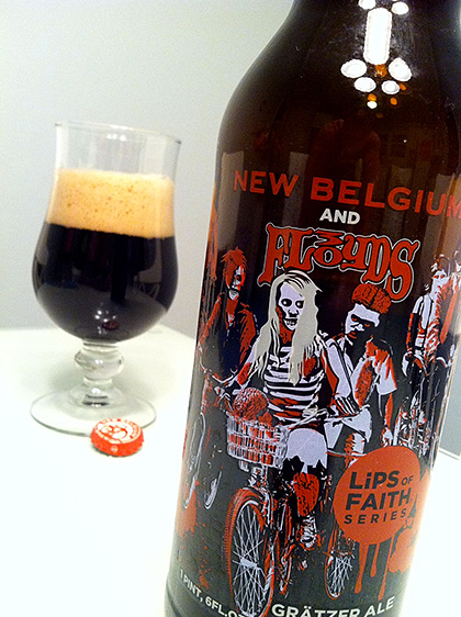 New Belgium and 3Floyds Grätzer Ale Review The Barley Blog